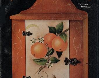 "Tole Orange--""Arizona Sunshine"""