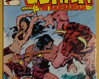 1983 Marvel Comics - Conan the Barbarian - Volume 1, #142 in Near Mint Condition - January 1983