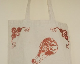 steampunk style tote bag