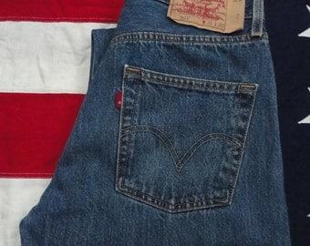 Levis 501 Jeans 31W 30L, Levis Strauss, Vintage Levis, Denim, Levis Jeans, Straight Leg Jeans, Mens 501 Jeans, Womens 501 Levis, 90's Levis