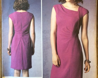 UNCUT Misses' Dress Pattern Vogue 1369 Vogue Paris Original Kay Unger Size 8-10-12-14-16