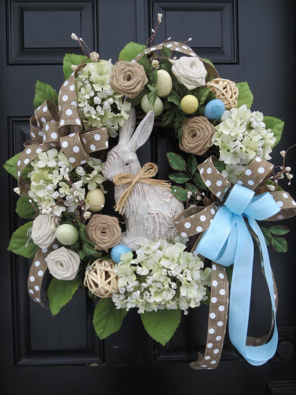 Easter Door Wreaths Easter Bunny Wreaths Easter Front Door