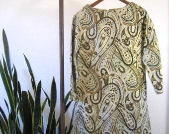 SALE!!! Fabulous Vintage 1970's Dress