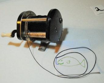 Vintage bakelite Level Wind Fishing Reel