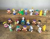 21 Charlie Brown Vintage Figurines