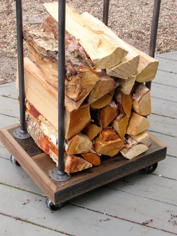 Wood Racks For Firewood ~ Rustic firewood rack