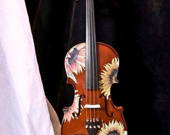 Sunflower Delight Violin Outfit