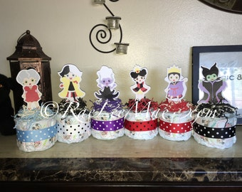 Minnie Mouse Diaper Cake Minis Baby Shower Or Birthday