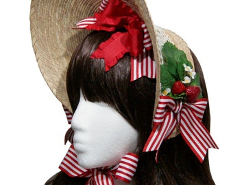 Sweet Country Strawberry Patch Bonnet