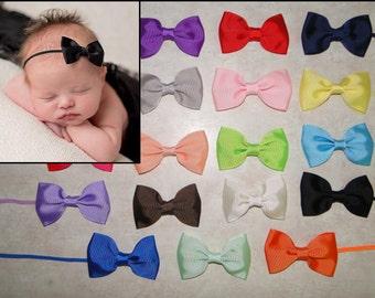 PICK 3 Bow Headbands, Baby Headband, Newborn Bow  Headbands, Infant Headbands, Headbands for Babies, Headbands for Baby, Headbands Sets