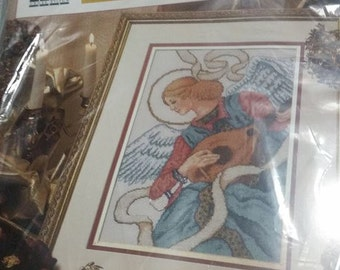 SALE! Renaissance Angel Cross stitch kit