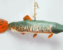 Designers Muskie Fish Pinata | Under The Sea Specials | Fisherman's Pride | Dad Party | Fish Decor | Guy Time