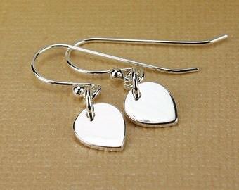 Lotus petal earrings silver lotus earrings lotus drop earrings silver earrings silver drop earrings drop earrings lotus jewelry petal drop