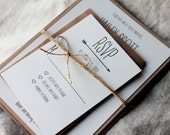 Modern Rustic Wedding Invitations, Arrow Wedding Invitation, Wedding Invitation, Rustic Invitations, Barn Wedding, Affordable Invitations