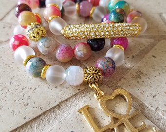 SALE!!!   In Love Bracelet Set