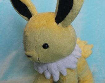 Chibi Jolteon pokemon plushie