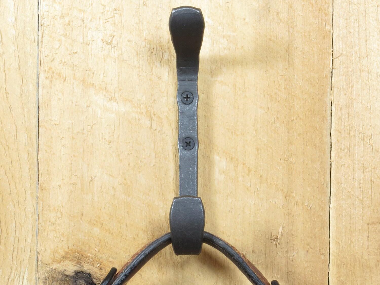Heavy duty ornament hooks - Double Wall Hook Dual Craftsman Hook Heavy Duty Wall Hook Purse Hook