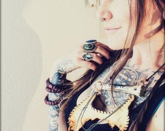 Drifter's Theory Tribal Bone Necklace