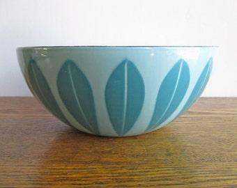 "Vintage Cathrineholm Blue Lotus 8"" Bowl"