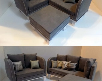 AG Doll Furniture 2 in 1 Sectional Sofa