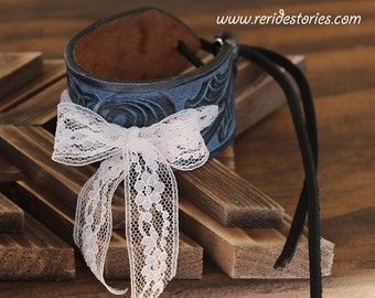 Repurposed leather belt by reridestories on etsy Repurposed leather belts