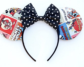 Vintage Mickey Poster Ears