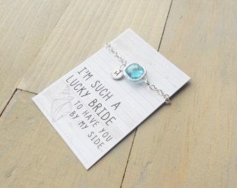 Pool Beach Bracelet, Bridesmaid Gift, Beach Jewelry