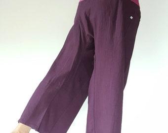 2Tone Fisherman pants thai yoga pant pants men's Fashion fit for all