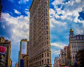 NYC Flat Iron Building - Custom Photo