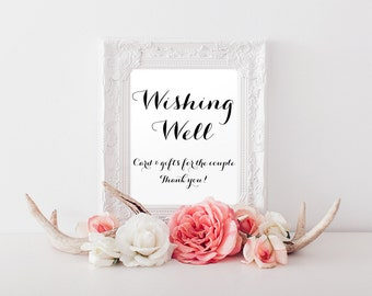 Wishing well text wedding anniversary