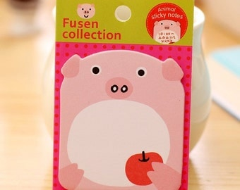 Cute Piggy Sticky Note Pad SN1099PG
