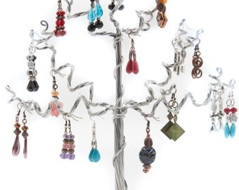 Handmade Aluminum Tree for Earrings, Jewelry, & Much More
