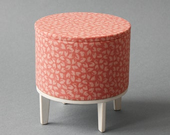 "hassock for 11-12"" dolls (like momoko, blythe, barbie) by Minimagine - furniture  in 1/6 scale, RTS"