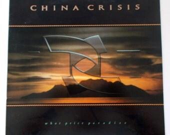 1986 China Crisis What Price Paradise Vinyl LP Record SP5148