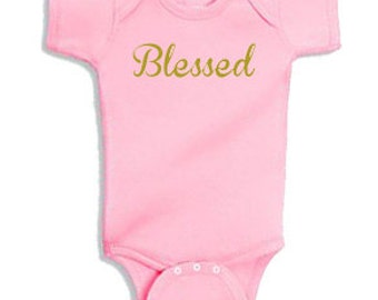 Blessed - Onesie Bodysuit Creeper *Free Shipping*