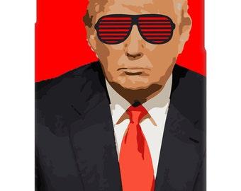 Donald Trump Shutter Shades phone case - iPhone 4, 5, 6 - Galaxy S3, S4, S5 - Shades - Funny - Politics