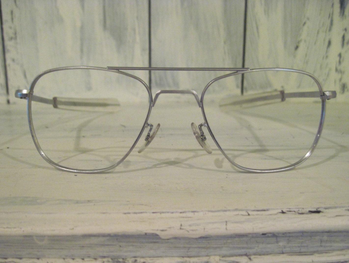 Vintage 1970s Randolph Aviator USA Eng. sunglasses frames