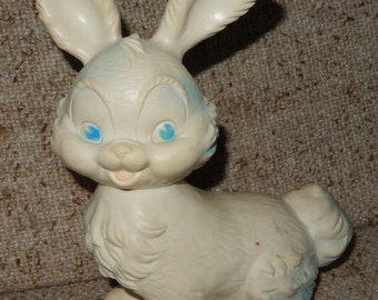 Vintage Edward Mobley Pinky Jr. Bunny Rabbit from 1961 - Made by Arrow