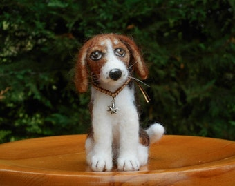 Felted Beagle