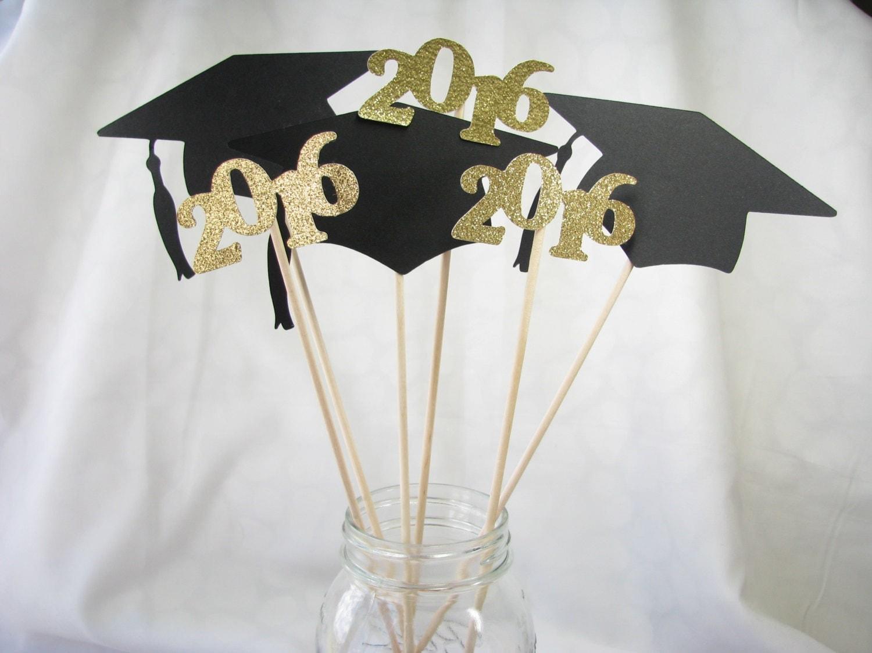 graduation centerpieces vase picks party party decorations. Black Bedroom Furniture Sets. Home Design Ideas
