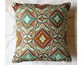 African Wax Accent Pillow - Woodin