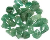 Green Aventurine Tumbled Gemstone with an Incense! Free Shipping! Crystal Healing, Crystals