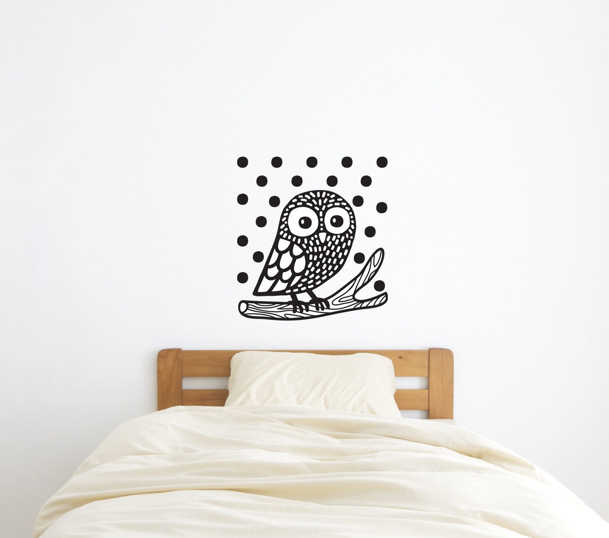 Owl Wall Decal Owl Wall Sticker Home Decor Wild