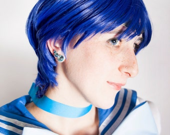 PGSM and Sailor Moon Crystal Sailor Mercury Earrings