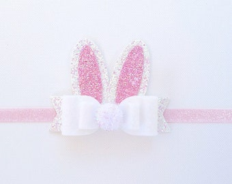 Adorable Is The Word For The Way Your Baby Will Look In The Soft Stretchable Bunny Ears Headband! - Lovable In All Four Colors!