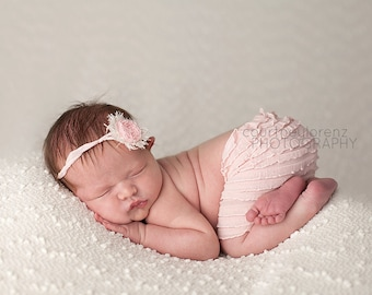 Newborn Skirt Set, Newborn Ruffle Skirt, Pink Newborn Skirt, Pink Skirt, Pink Ruffle Skirt, Newborn Skirt, Ruffle Skirt, Photography Prop