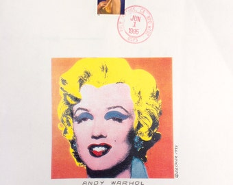 Three First Day Cover 1995 Marilyn Monroe Stamps Cancelled in Palm Springs California FREE SHIPPING