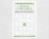 Lace Bridal Shower Bingo - Personalized and Printable - Bridal Bingo Game - Bridal Shower Games