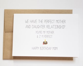 items similar to happy birthday to a deceased mom card in purple, Birthday card