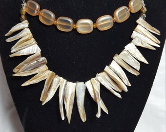 Spike Sea Shell Necklace